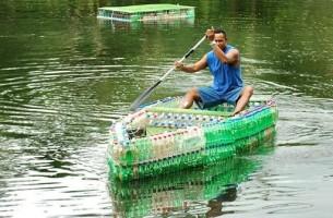 Was man alles aus Plastikflaschen machen kann