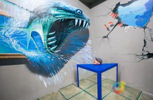 3D Museum. Jeder Besucher ist Teil des Kunstwerks
