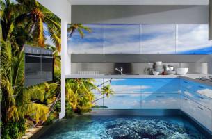 3D im Badezimmer