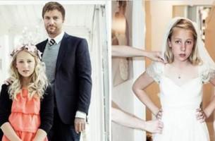 Norwegens erste Hochzeit von Kindern. Sehen, was dahinter steckt.